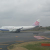 China Airlines 747 at Narita airport